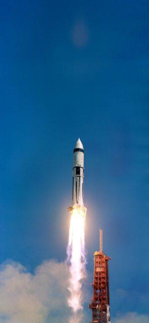 Liftoff - Saturn Mission 203 - KSC