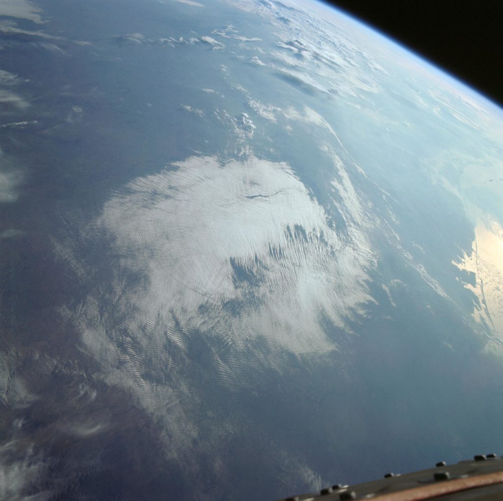 Gulf Coast from Corpus Christi to mouth of Mississippi river from Gemini 11