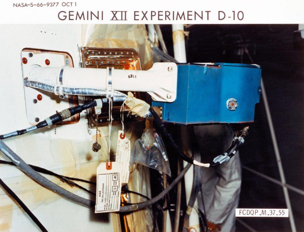 GEMINI-TITAN (GT)-12 - EXPERIMENT D-10 - ION-SENSING ATTITUDE CONTROL - MSC