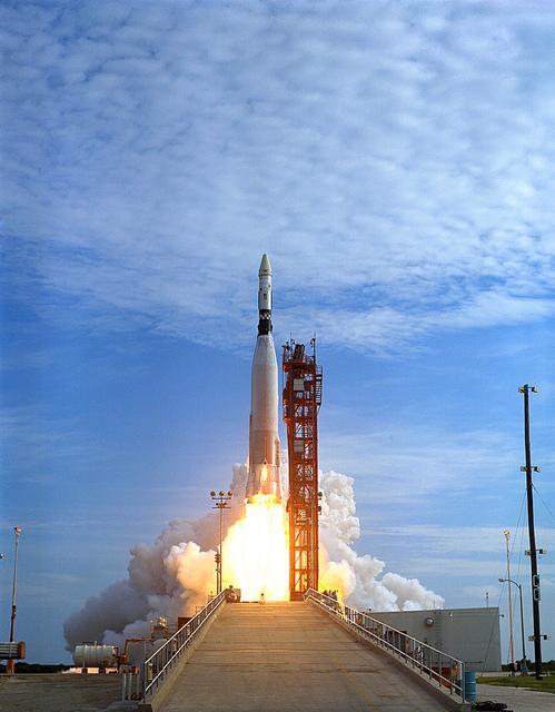 Atlas Agena Launch