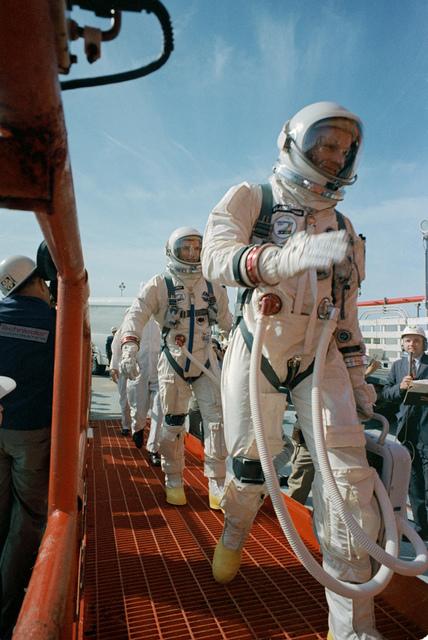 Boarding Gemini VIII