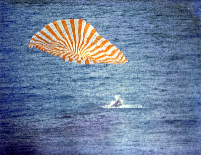 Gemini 10 Splashdown