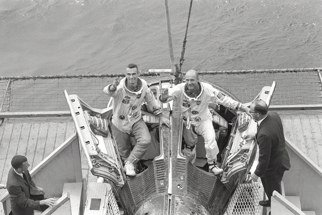 Gemini Crew Welcomed by Wasp Crew