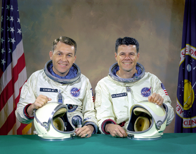 The Original Gemini 9 Prime Crew