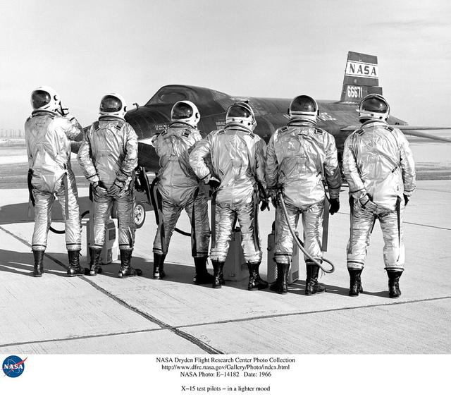 X-15 pilots clown around