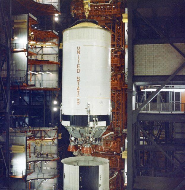 Saturn VS-II (second) stage - Saturn Apollo Program