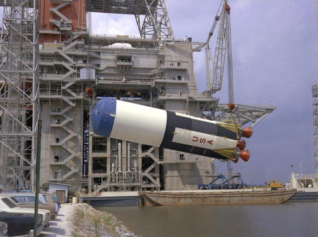Saturn V S-IC-5 (first) flight stage - Saturn Apollo Program