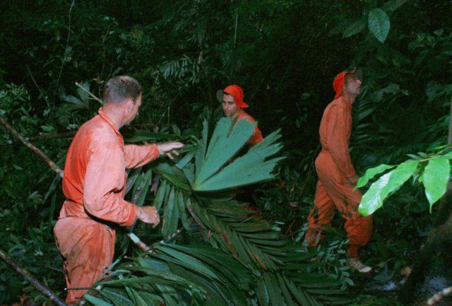 ASTRONAUT GROUP - TRAINING - JUNGLE - PANAMA