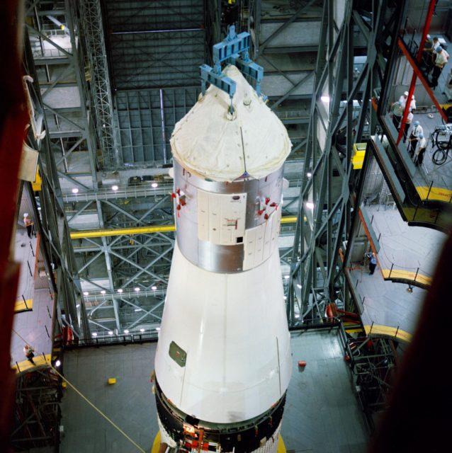 APOLLO SPACECRAFT 017 - VERTICAL ASSEMBLY BLDG. (VAB) - KSC