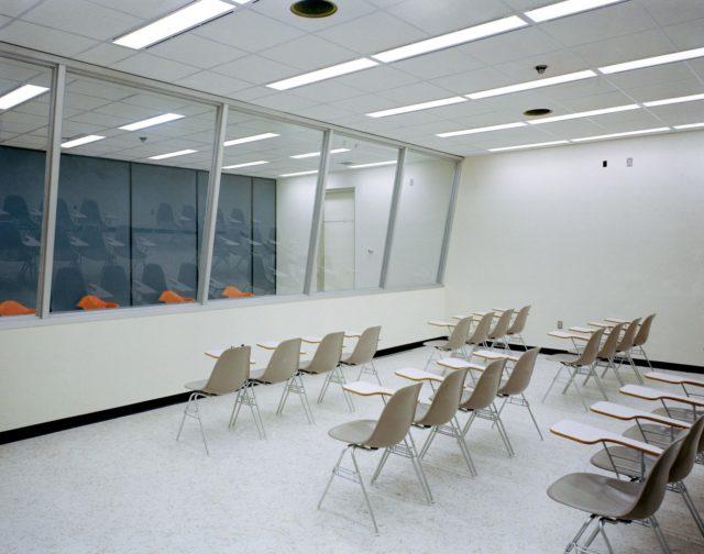 Press Room - Crew Reception Area (CRA) - Lunar Receiving Laboratory (LRL) - MSC