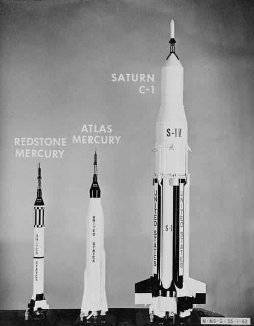 Early Rockets: The Atlas Mercury, Redstone Mercury; and Saturn C-1.