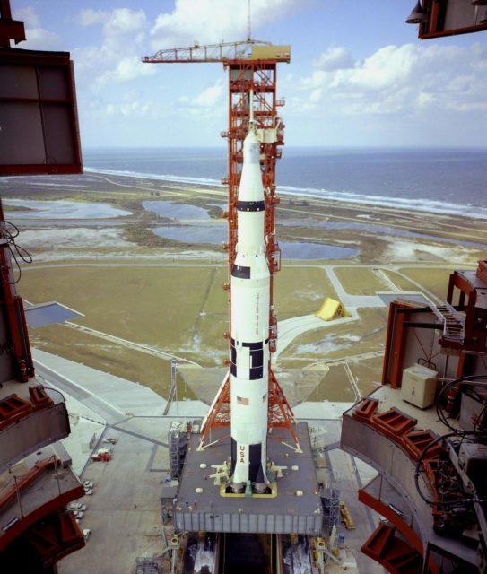 Saturn V vehicle (SA-501) - Saturn Apollo Program
