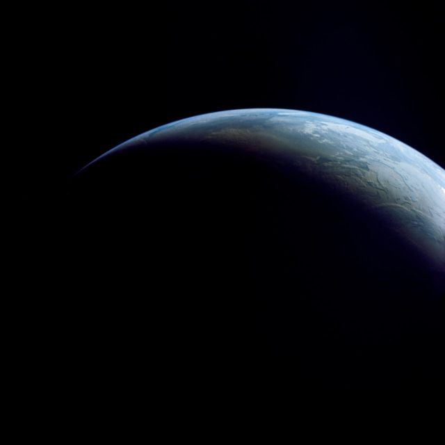 Atlantic Ocean, Antarctica as seen from the Apollo 4 unmanned spacecraft