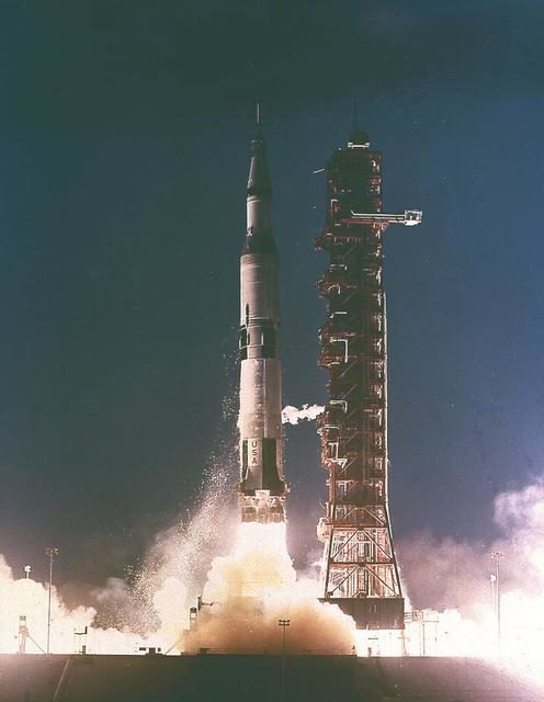 Saturn V first flight -  Apollo Program