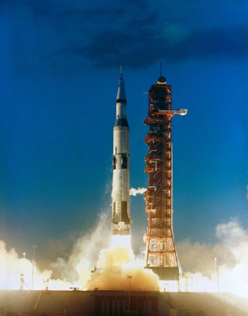 Apollo 4 liftoff