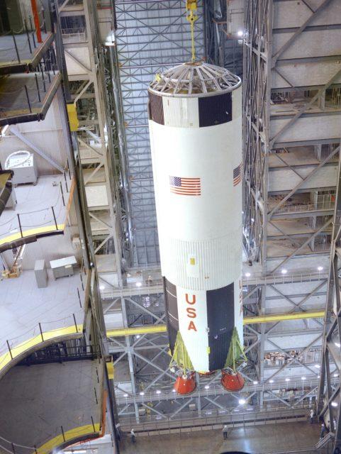 Saturn V S-IC stage - Saturn Apollo Program