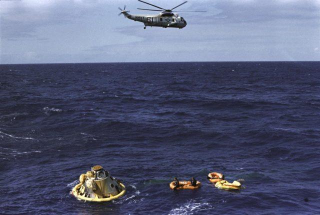 Apollo 6 (AS-502) Pacific Recovery