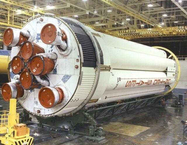 Saturn 1B S-IB (first) stage - Saturn Apollo Program