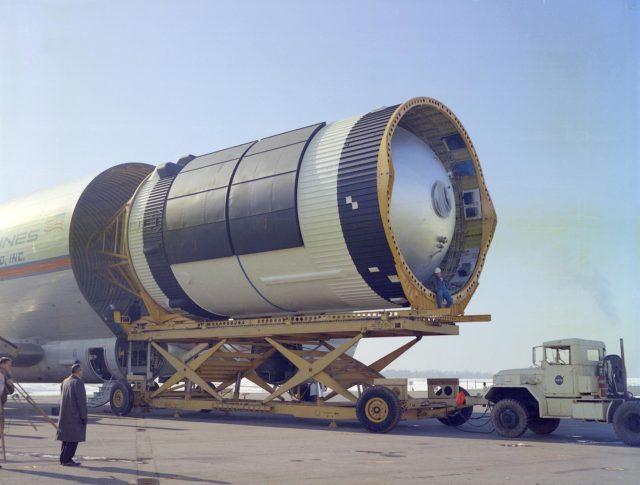 Saturn V S-IVB stage - Saturn Apollo Program
