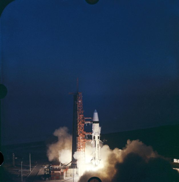 Apollo V - Liftoff - Cape