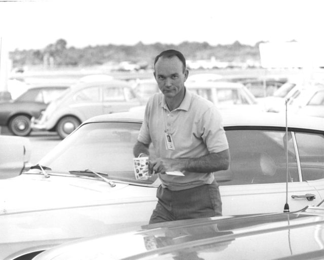 Apollo 11 astronaut Michael Collins
