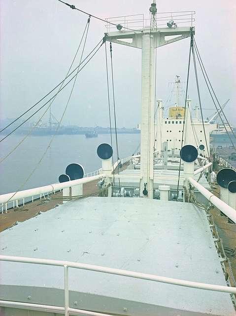Deck view on 'Nicola'
