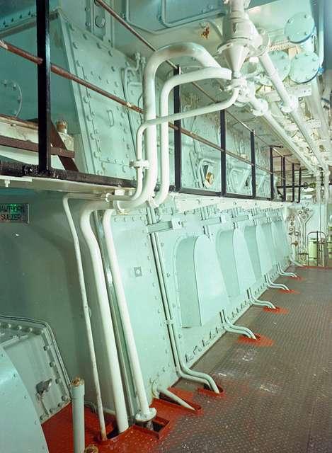 'Nicola's engine room
