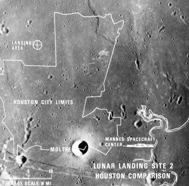 LUNAR LANDING - SITE 2 COMPARISONS