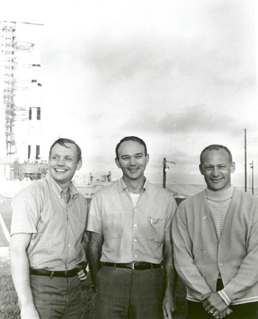 Apollo 11 Astronauts and Apollo/Saturn V Space Vehicle