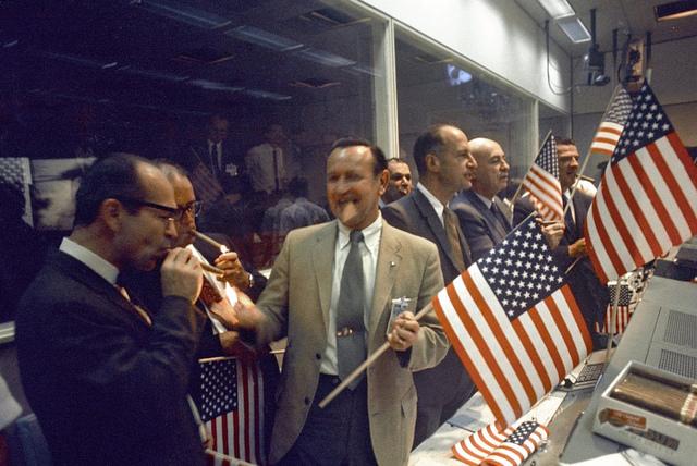 Apollo 11 Celebration at Mission Control