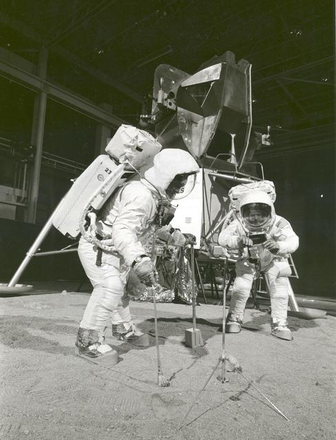 Apollo 11 Crew During Training Exercise