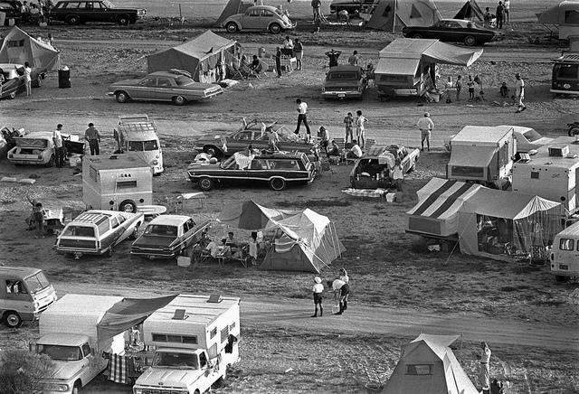 Apollo 11 Launch Spectators