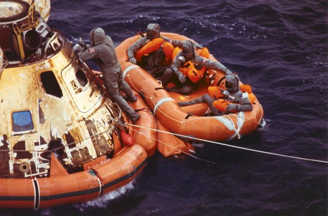 Apollo 11 Recovery Area
