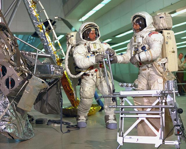 Apollo 12 Lunar EVA Training