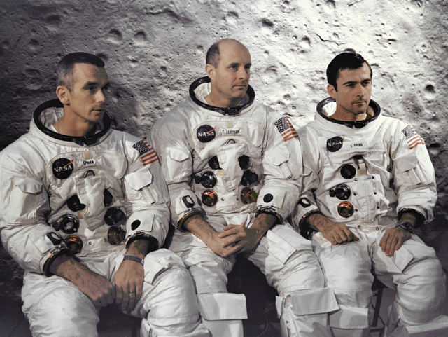 The Apollo 10 Prime Crew