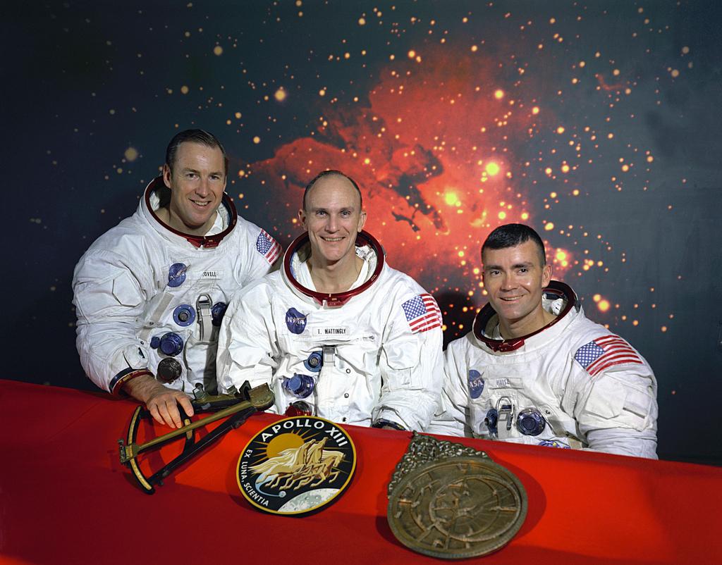 The Original Apollo 13 Prime Crew