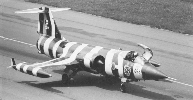 Canadair CF-104 cn 1162 104862 441 Sqn CAF 1979  (Jean-Michel Guhl via RJF)