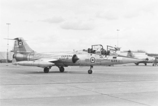 Canadair CF-104D 104639 CAF (CAF via RJF)