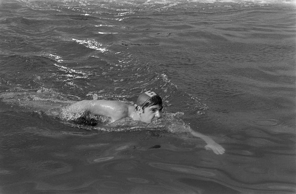 Internationaal zwemmarathon op Maarsseveense Plassen ; nr. 4, 5, 6: Iglesias