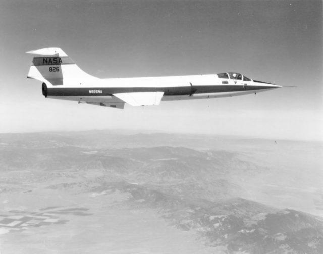 Lockheed F-104G N826NA NASA [NASA ECN 8026 via RJF]