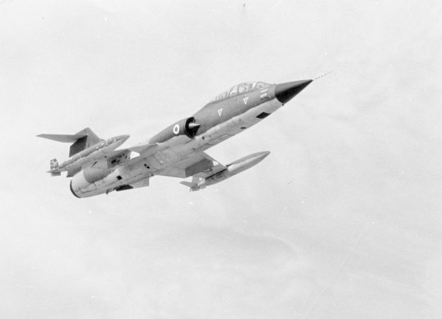 Lockheed TF-104G cn 5519 61-12274 Helliniki Aeroporia 1  (Greek AF via RJF)