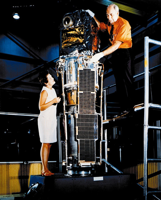 Marjorie Townsend and SAS-1