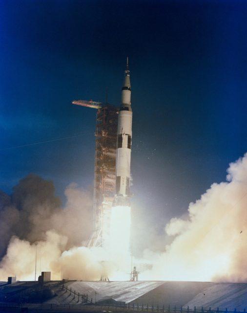 Launch - Apollo 14 Lunar Landing Mission - KSC