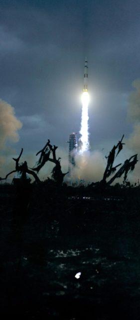 Launch - Apollo XIV -  Lunar Landing Mission - KSC