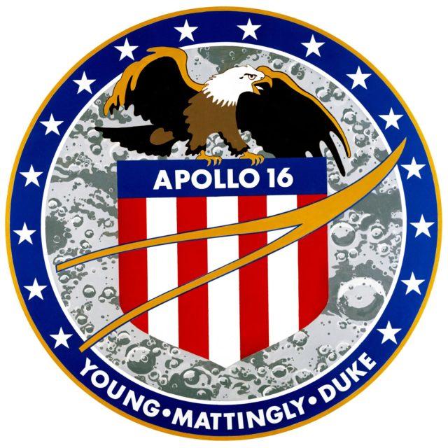 Apollo 16 insignia