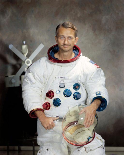 Portrait of Scientist-Astronaut Owen K. Garriott