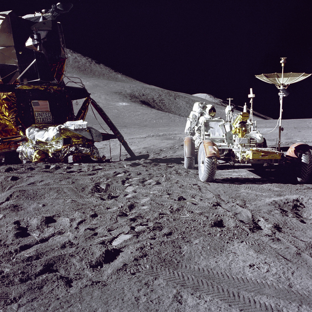 Irwin Loads-up the Rover
