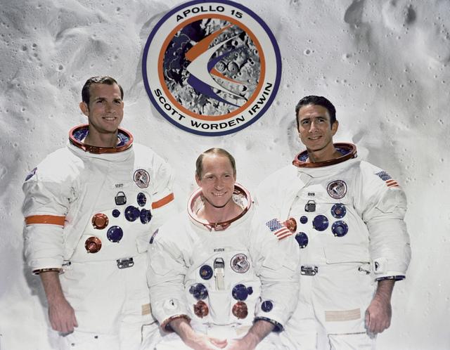 The Apollo 15 Prime Crew