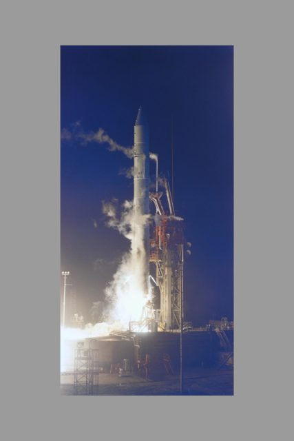 Launch of Pioneer 10 to Jupiter occured at 8:49 p.m. EST  March 2, 1972 ARC-1972-AC72-2142