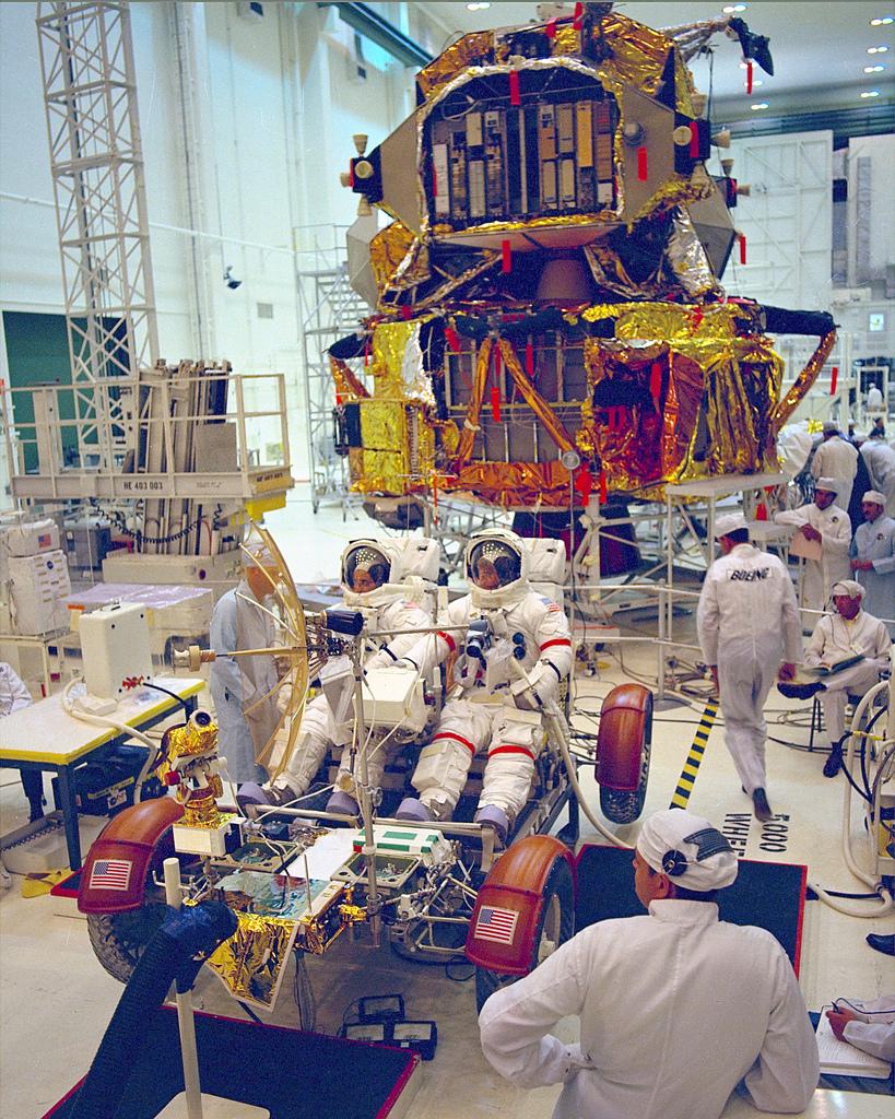 Apollo 17 Astronaut Training
